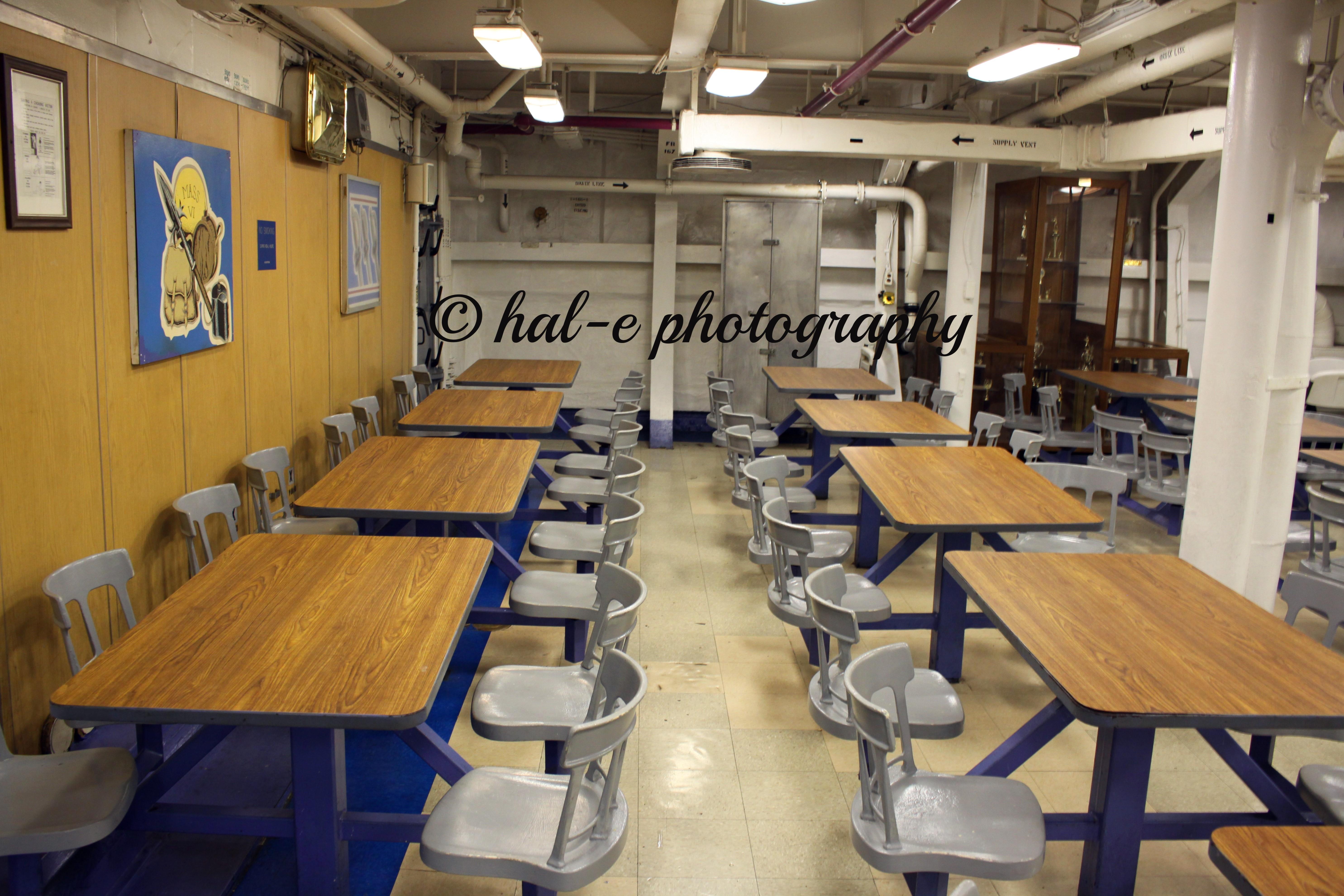 Ships Mess Hall