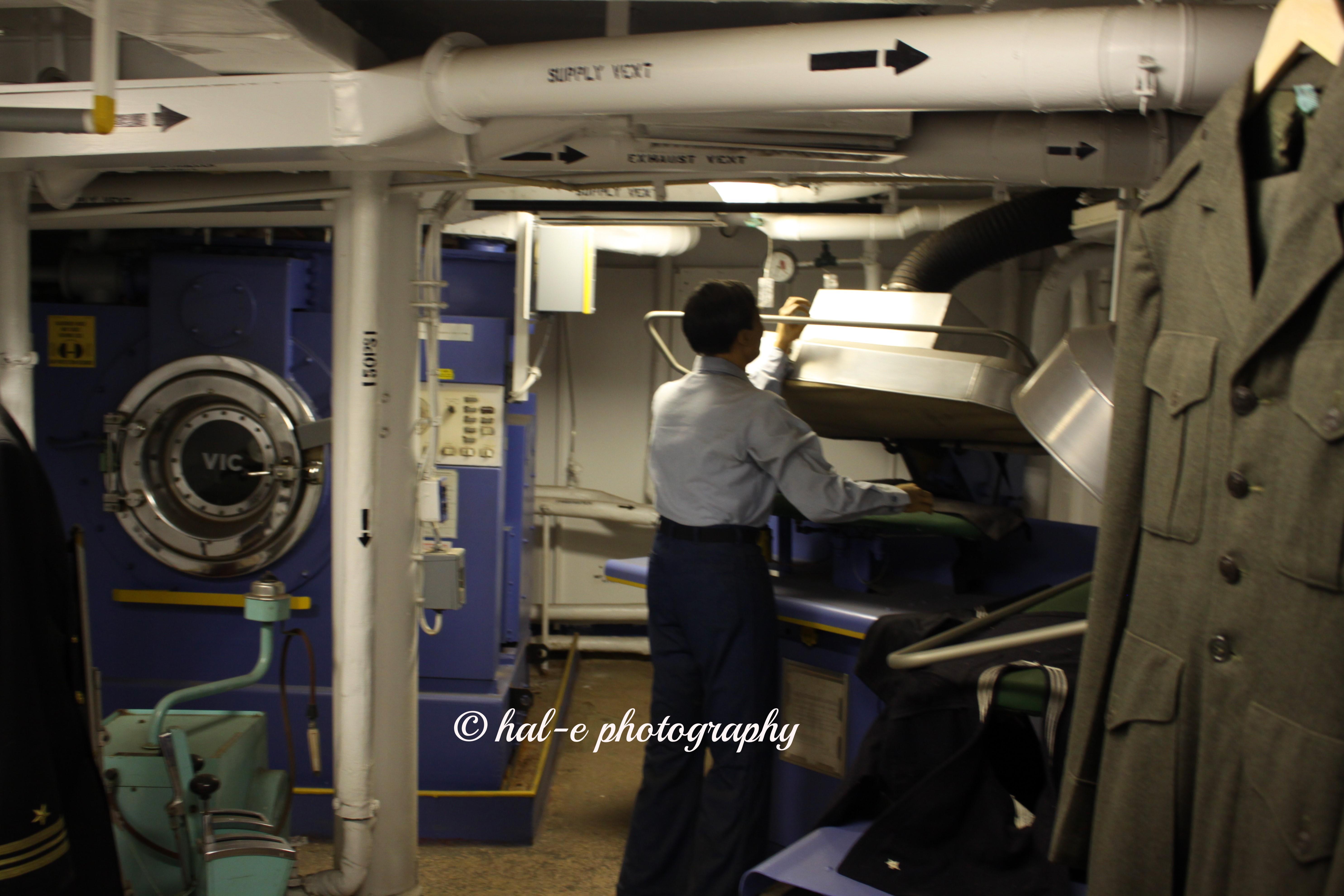 USS NJ Laundry
