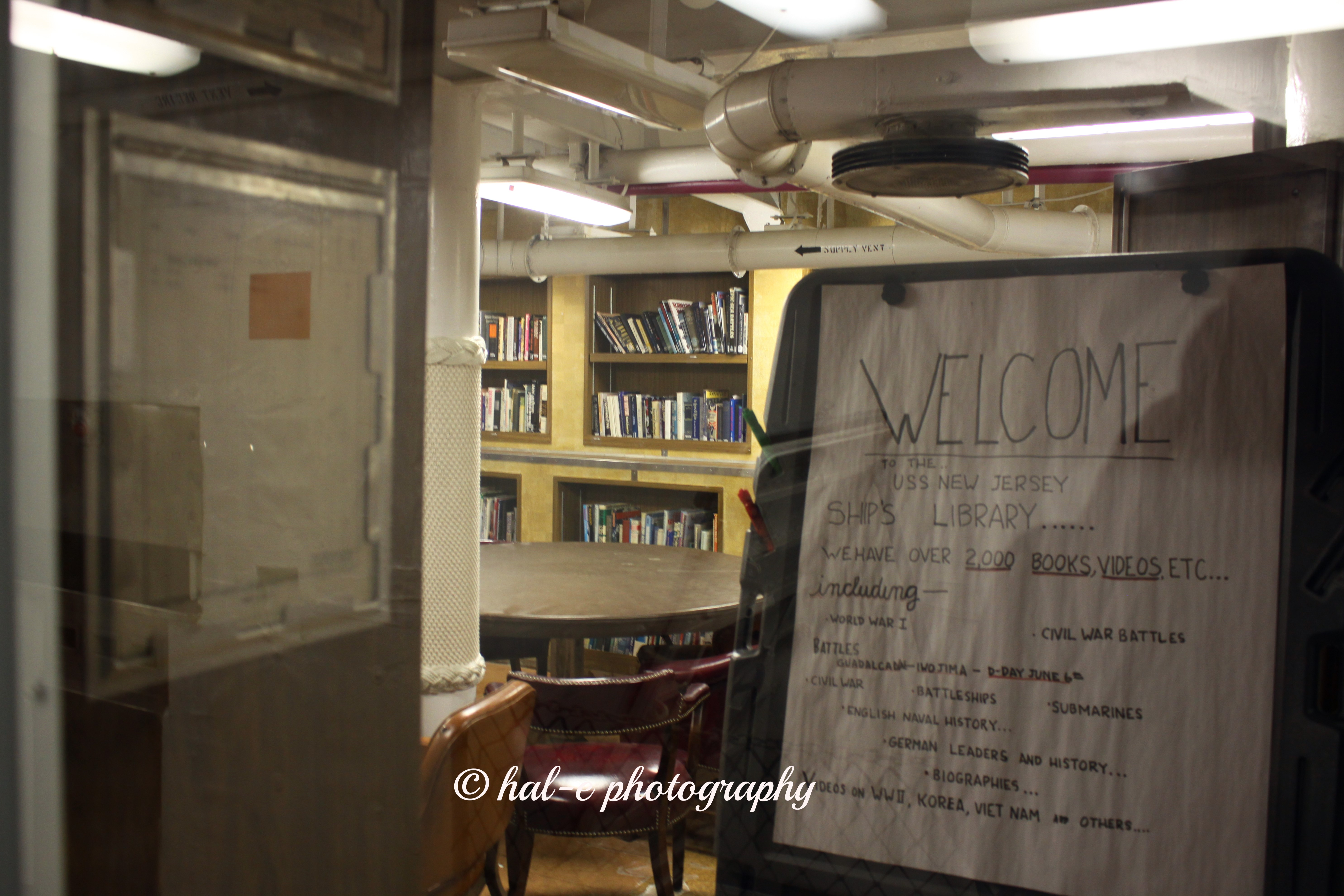 USS NJ Library