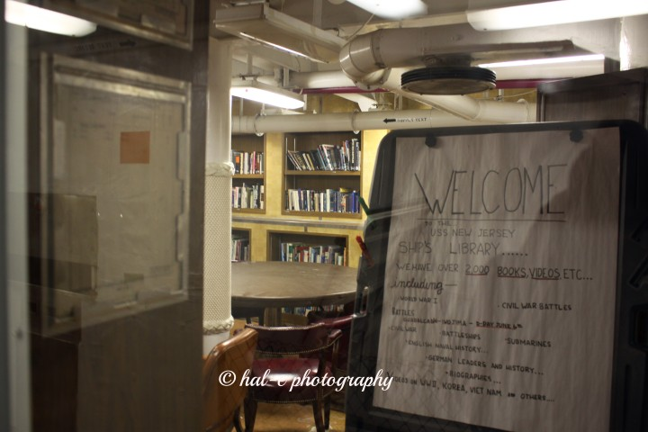 USS NJ Library
