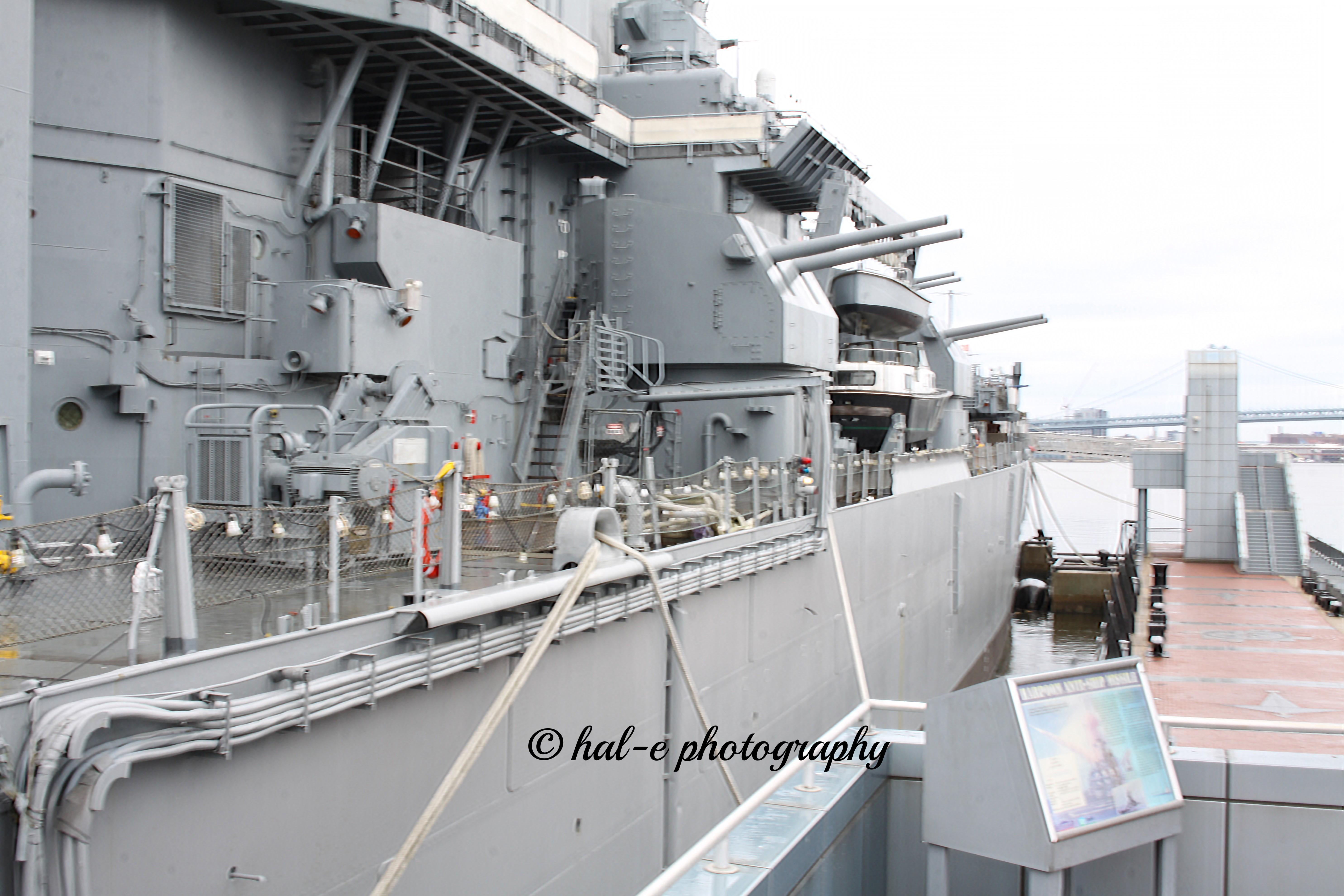 USS NJ Starboard Side